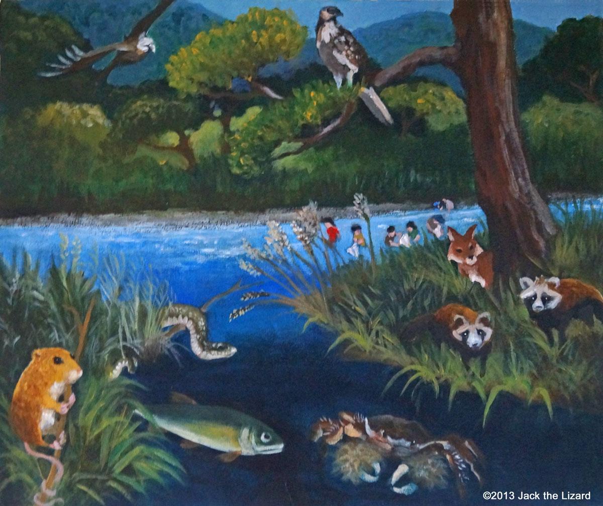 Mature River - Jack the Lizard Wonder World