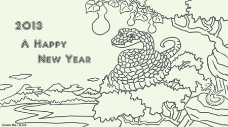 Coloring The Year of Snake