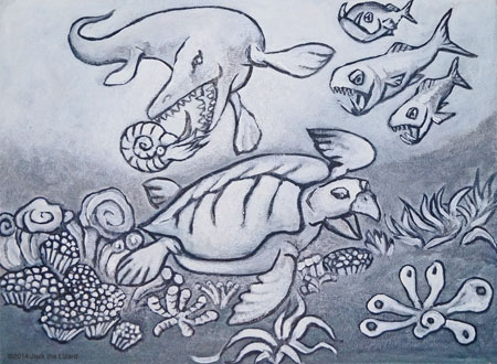 Coloring Pages of Archelon