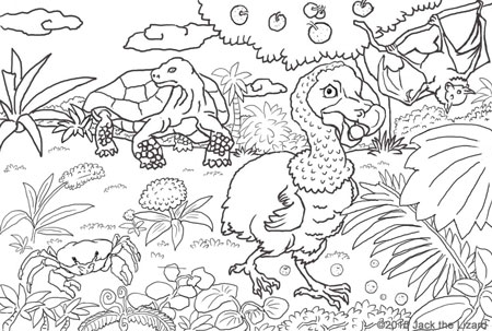 Prehistoric Animal Coloring Pages