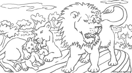 coloring pages of meerkat coloring pages of lion cubs