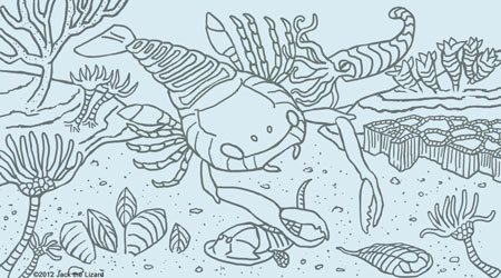 Coloring Pages of Sea Scorpion