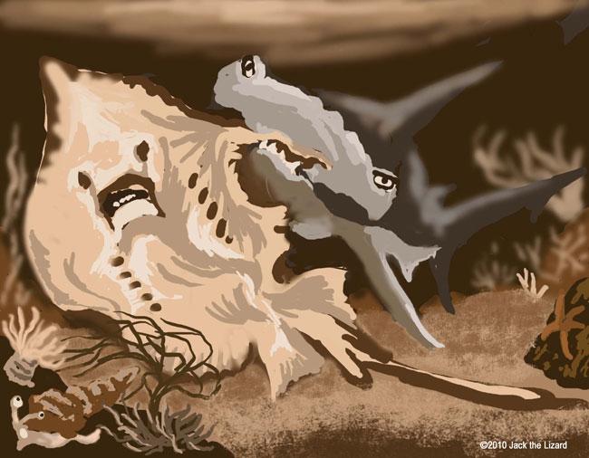 "Animal Manga ""The Ocean Story"" - Jack the Lizard Wonder World"