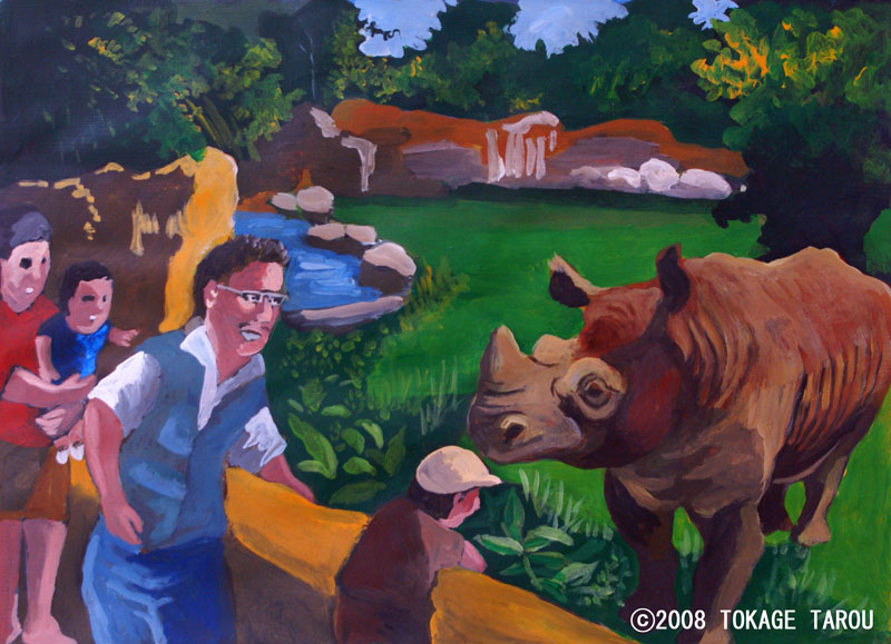 Tommy the Rhino, Tennoji Zoo